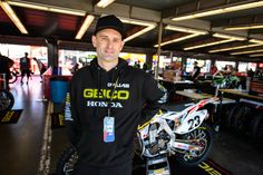 We catch up with an Aussie who's been embedded in the AMA motocross and supercross scene longer than Chad Reed and Michael Byrne — Geico Honda's Kris Kibby