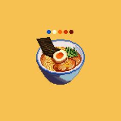 Pixel Art Food, Anime Pixel Art, Pixel Circle, Pixel Drawing, Pix Art, Retro Poster, Digital Painting Tutorials, Cross Stitch Art, Environmental Art
