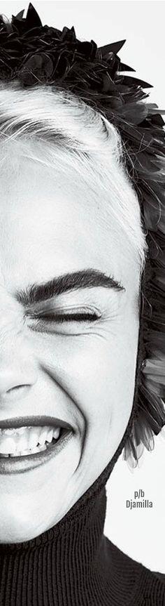 Cara Delevingne - US Glamour August 2017