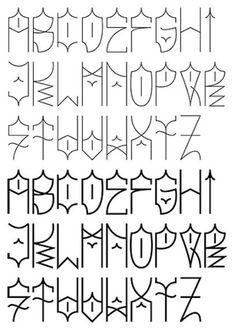 32 Inspirational Graffiti Alphabet Letter Examples #graffiti http://www.graffitistudio.net/32-graffiti-alphabet-examples