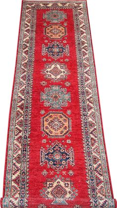 Today's Kazak is a modern shape of old Caucasian rugs which strictly adheres to traditional design elements of the Caucasus.  http://www.alrug.com/4875