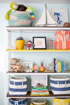 22 Amazing IKEA Shelf + Table Hacks to Try Immediately via Brit + Co.