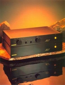 Sugden Au41 Pre-Amplifier & Sugden Au41 Power Amplifier. (1991-1996)