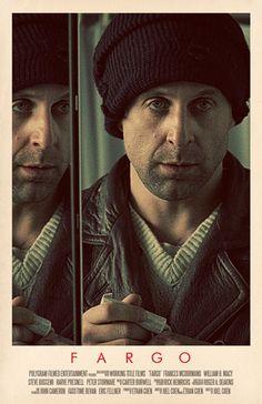 Fargo (1996) ~ Alternative Movie Poster by Benjamin Capazo #amusementphile