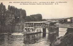 Paris, Bellevue, Meudon, bateaux mouches Parisiens, type mouche