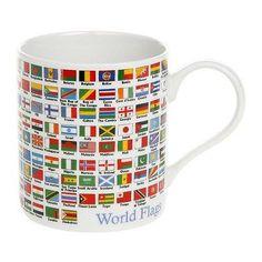 Educational Mug Flags of the World