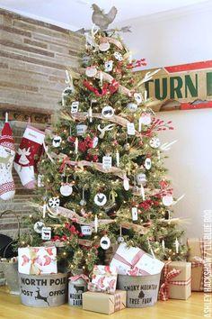 Tree Challenge 2015 On Pinterest Christmas Trees Trees And Rustic