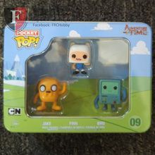 Mathematical! Your favorite on screen living situation can now be yours in this 3-pack collection. We've got a brand new Adventure Time 3-pack Tin featuring the heroes of Adventure Time: Jake the talking dog, BMO the handheld game, and Finn the human! They're the perfect companions whether you're saving your pals from the clutches of the Ice King or making bacon pancakes!