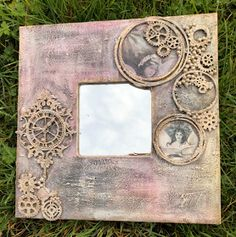Debs is here today with a very cool mixed media mirror using fabulous products from our November Sponsor Samantha K . Here's h...