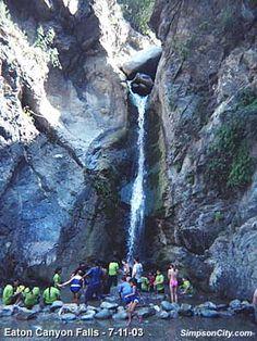 Dan's Hiking Pages: Eatan Canyon Falls