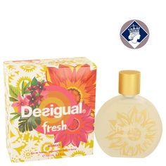 Desigual Fresh Woman 100ml/3.4oz Eau De Toilette Spray Perfume Fragrance for Her
