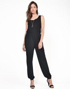 Classic Black Jumpsuit - Large