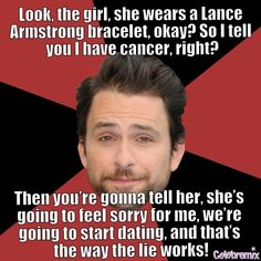 Charlie dating profile it's always sunny