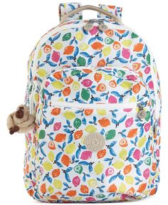 Kipling Handbag, Seoul Print Backpack