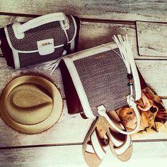 Beige handbags Doca SS15 Collection