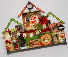 Studio 5: Christmas Configurations Keepsake Houses www.sueneal.blogspot.com
