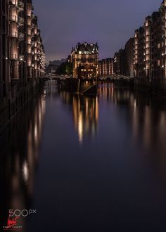 Hamburg Speicherstadt - Long Exposure