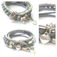 Mother bracelets by BengeltjesBeads