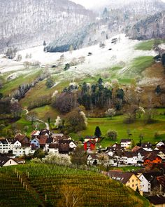 Liechtenstein...I want to disappear here, it's so beautiful.