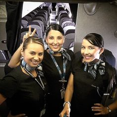 Copa Airlines Stewardesses