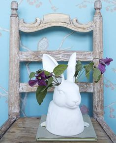 Can anyone tell me where to get this bunny vase? I love the flowers coming out of his ears!