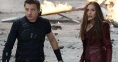 Scarlet Witch & Hawkeye Will Return In Avengers: Infinity War -- Elizabeth Olsen was spotted arriving in Scotland, while Jeremy Renner teased that he's on his way to shoot Avengers: Infinity War. -- http://movieweb.com/avengers-infinity-war-set-photos-elizabeth-olsen-jeremy-renner/