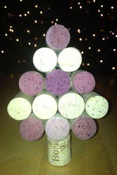 #DIY wine cork tree