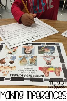making inferences with picture clues
