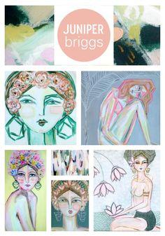 NEW WORK BY JUNIPER BRIGGS  A quick peek at Juniper Briggs' new Summer series.  www.juniperbriggs.com