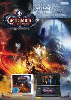 Poster . Castlevania Mirror of Fate . Nintendo 3DS