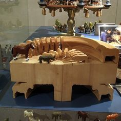 Christian Werner arks in Toy museum