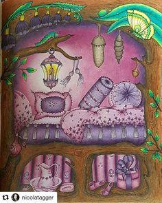 #Repost @nicolatagger with @repostapp ・・・ My purple passion is complete  Book is #carovnelahodnosti artist is @klaramarkovajewels #klaramarkova #magicaldelights #bayan_boyan #adultcoloringbook #adultcoloringforum #arte_e_colorir #adultcoloringwonderland #coloringmasterpieces #coloring_secrets