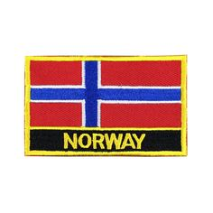 Norway Flag Patch Embroidered Patch Gold Border Iron On patch Sew on Patch Bag Patch patch iron on patch flag patch Nation Flag Gold Border Gold Border Patch Patches sew on patch Embroidered patch iron on patches Norway Norway patch Norway flag meet you on www.Fleckenworld.com