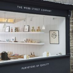 Webb Street Company in Cornwall The Webb Street Company in Cornwall: Remodelista what about making like this my new kitchen?The Webb Street Company in Cornwall: Remodelista what about making like this my new kitchen? Shop Interiors, Dark Interiors, Office Interiors, Commercial Design, Commercial Interiors, Cafe Design, Store Design, Shop Front Design, Studio Design