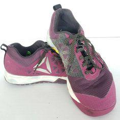 1fa585ab9ef Reebok Women s Crossfit Nano 6.0 Training Shoes Purp Size 6  AR0488 192L t