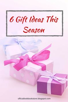 It's the season of giving! To fill Santa's role this Christmas, take this 6 Gift Ideas for your loved ones. | Lookbook Store