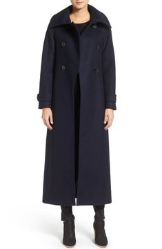 fc33a3f30b Mackage Double Breasted Military Maxi Coat