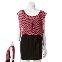 Candie's Chevron Dress - Juniors #Kohls