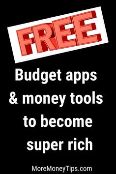 Best Budget Apps and Finance Tools to Save Thousands - More Money Tips Earn Money From Internet, Make Money Online, How To Make Money, Budgeting Process, Budgeting Money, Best Budget Apps, Household Budget, Making A Budget, Family Budget