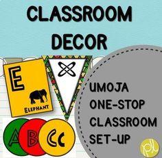 Umoja means unity. M