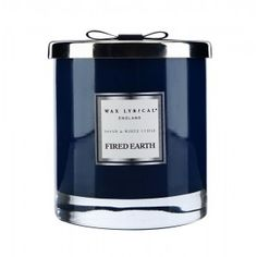 Fired Earth Assam & White Cedar Large 2 Wick Candle