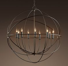 Restoration Hardware Orb Chandelier