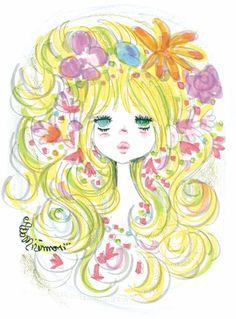 水森亜土ado mizumori Little Boy And Girl, Girls In Love, Cartoons Magazine, Pretty Art, Girl Cartoon, Retro, My Images, Art Inspo, Vintage Art
