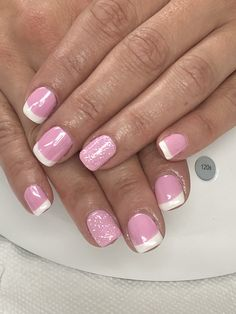 Sparkly French Manicure, Sparkly Nails, French Nails, White Nails, Gel Nail Light, Beauty Tips, Beauty Hacks, Light Elegance, Gel Nail Designs