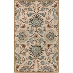Home Decorators Collection Amanda Ivory Wool 8 ft. x 10 ft. Area Rug-AMN2000-810 at The Home Depot