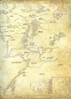 middle earth mapthe evolutiontolkienlotrmapshobbitgeographymap of middle earthlord of the rings