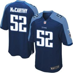 Youth Nike Tennessee Titans #52 Colin McCarthy Limited Navy Blue Alternate NFL Jersey Sale