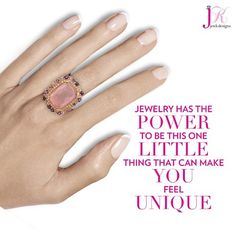 SHOP NOW at www.jenkdesignsny.com #unique #ring #pretty #color #prettyinpink #diamonds #new #handmodel @jenkpix