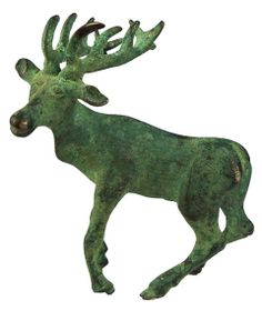 Persian Silver Stag Statue (500 BCE)