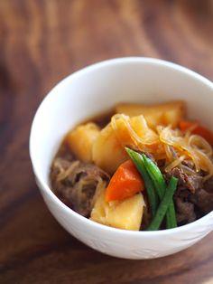 Da Washoku Kitchen: NIKUJAGA (Meat and Potato Stew)